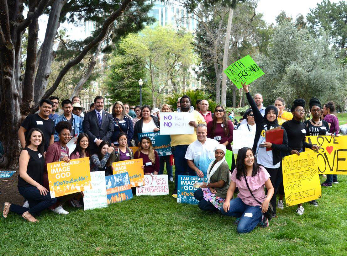 Faith in Fresno group photo with California Assembly Member Dr. Joaquin Arambula