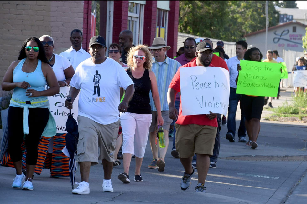 Faith in the Valley Organizes Walk for Peace to Call on Stockton to End the Violence