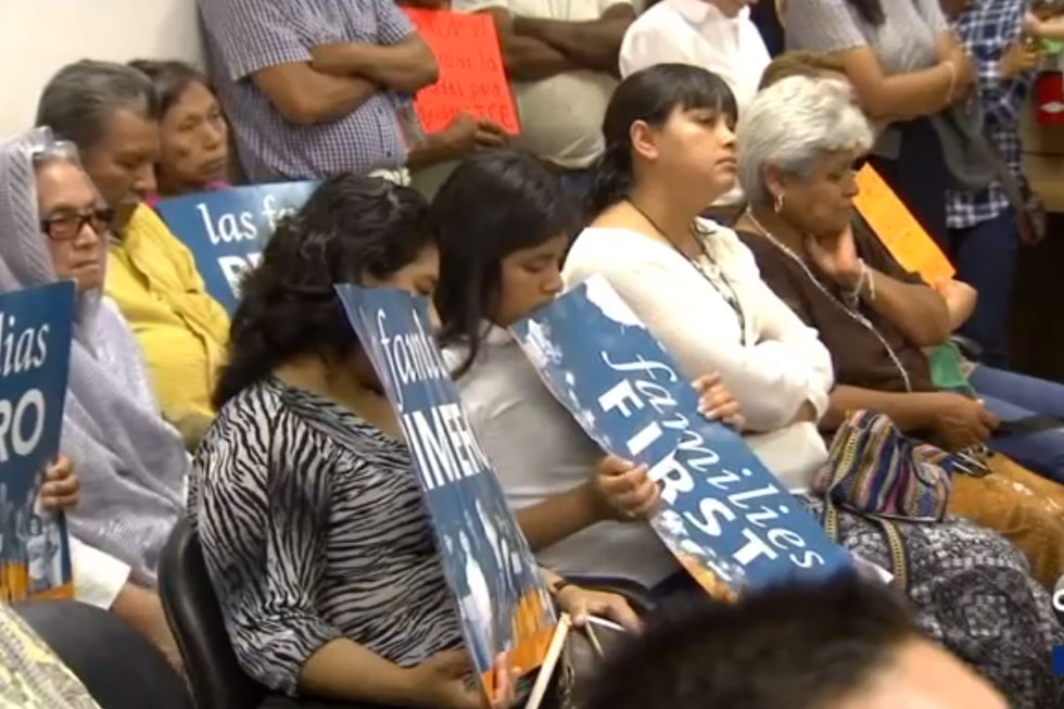 During Tuesday's Public Comment, Families Asked For Mendota To Become A Sanctuary City-- One Where Local Officers Can't Use Their Resources To Help Federal Immigration Enforcement. (KFSN)