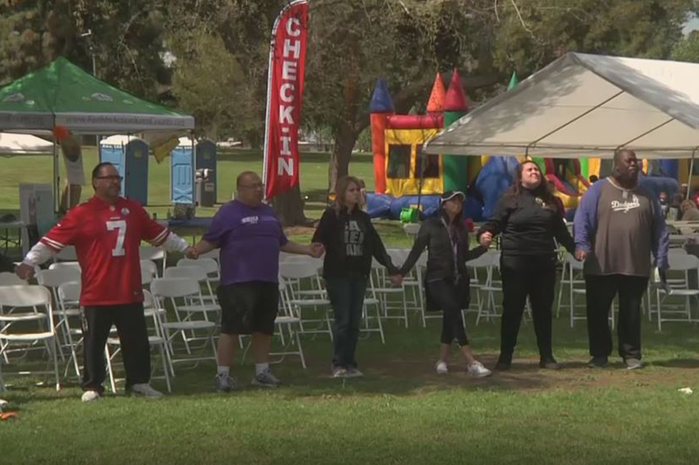 Hundreds Take Part In 4th Annual Walk For Justice In Bakersfield