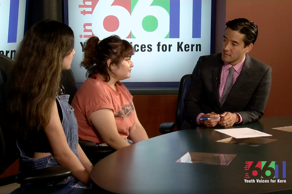 Faith in Kern youth leaders call on adults for support to end gun violence in schools.