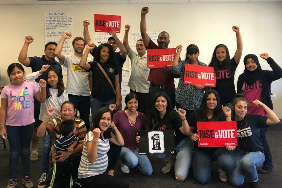 Faith In The Valley's Volunteer Civic Engagement Project Launch 2018