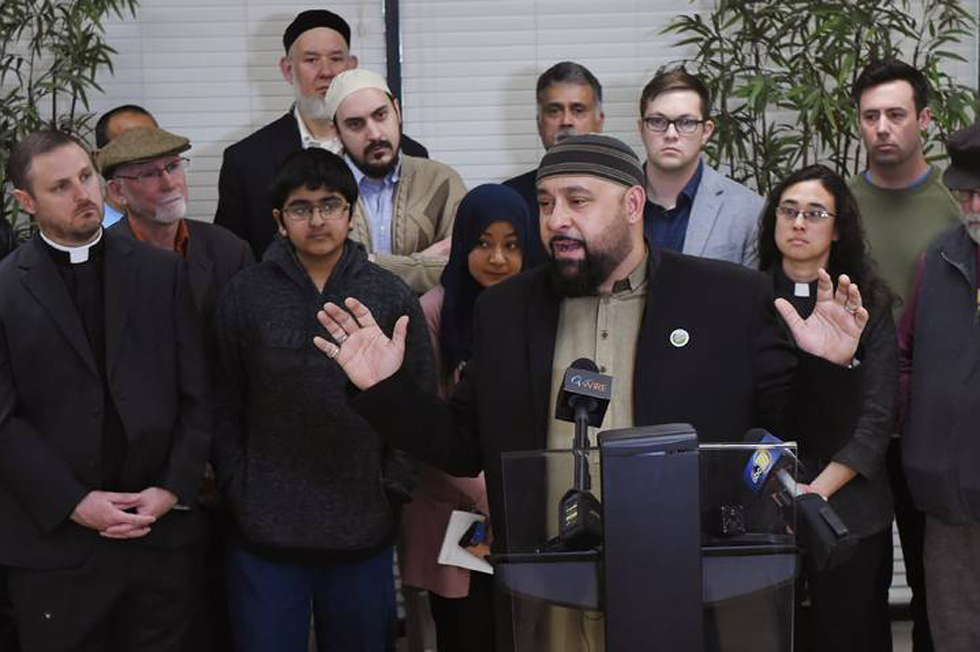 Local Religious Leaders Held A Press Conference To Speak Out Against Hate And White Supremacy Which Led To The Killing Of Muslims In Christchurch, New Zealand. (Photo By Eric Zamora/Fresno Bee)
