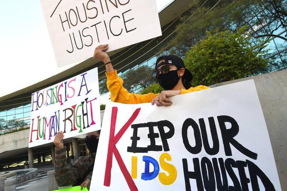 Faith In The Valley Endorses Homes Guarantee (Photo Credit: John Walker/The Fresno Bee)